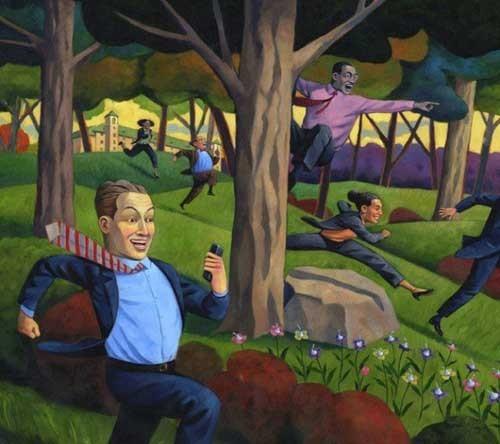 加拿大插画师Murray Kimber讽刺漫画欣赏
