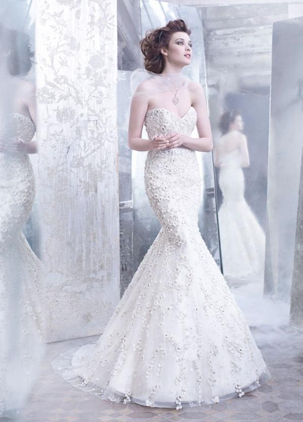 白色婚纱 时尚摄影欣赏