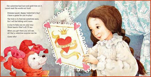 《The Secret Valentine》绘本故事