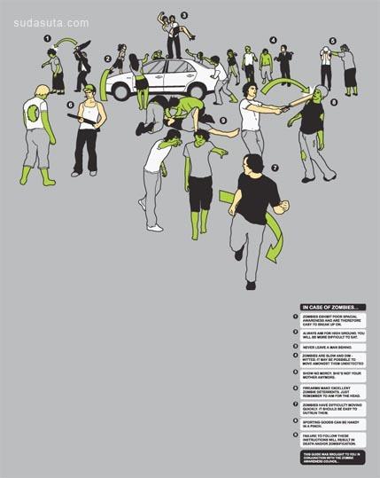30个创意矢量T恤设计