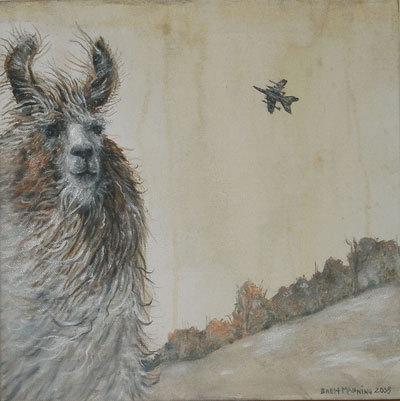 Brett Manning的绘画作品欣赏