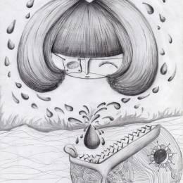 杨丽凰爱画画 原创手绘小图