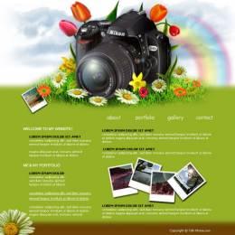photoshop简单网页效果图教程