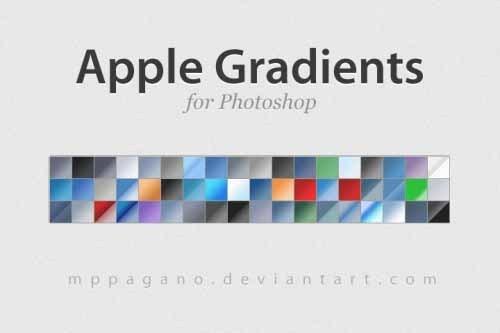 6套免费photoshop渐变色下载