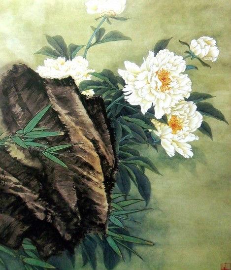 《国色天香》中国风工笔牡丹