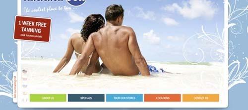40个色彩丰富的网页设计
