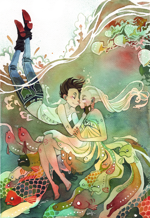 *tir-ri 水彩插画欣赏
