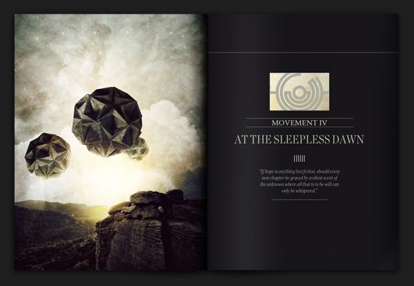 《生活与死亡的后记》超现实主义影像设计