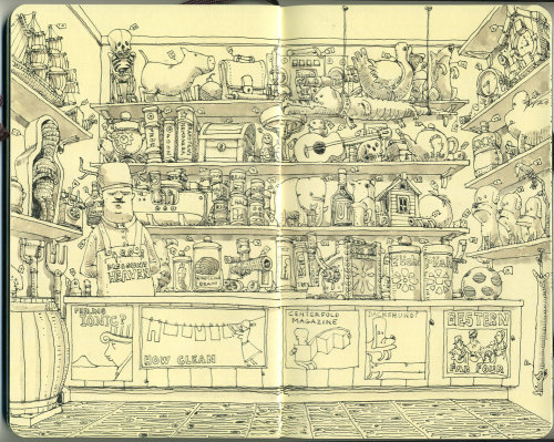 Mattias Adolfsson奇妙的想像世界