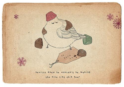 肥鸟日记 小涂鸦