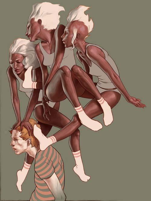 Jeremy Enecio插画作品欣赏