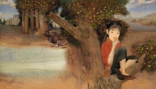 Lin Wang 儿童插画欣赏