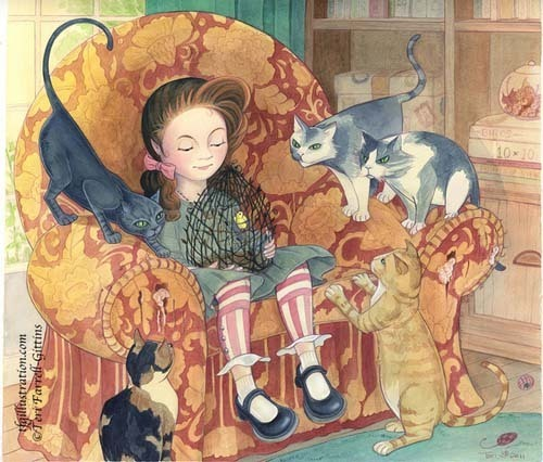 Teri Farrell-Gittins 插画作品欣赏