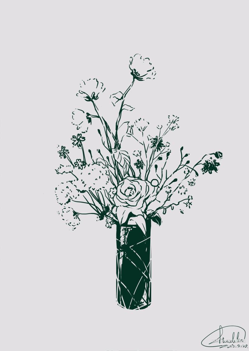花纹 手绘插画欣赏