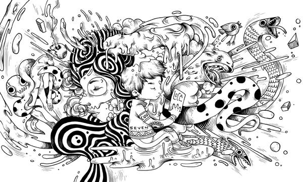 Raul Urias 潮流矢量插画欣赏
