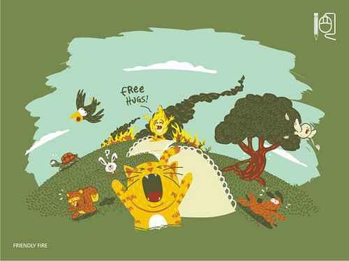 Rodrigo Ferreira 童趣矢量插画欣赏