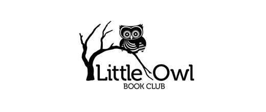 创意LOGO欣赏 树上的猫头鹰