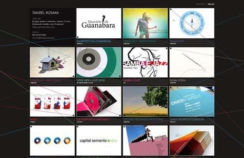 35个创意网站截图