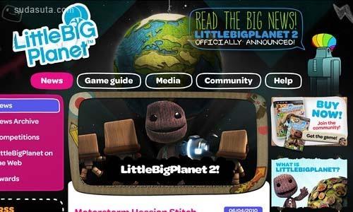 33个非常漂亮的游戏网站欣赏