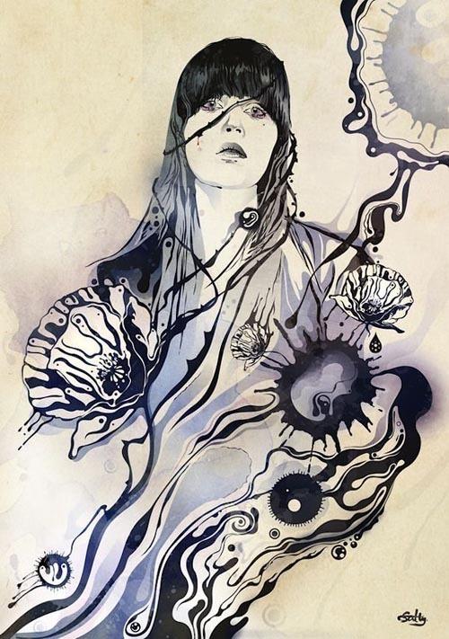 Shadow Chen 插画作品欣赏