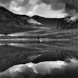 Christopher George 寂寞的黑白影像