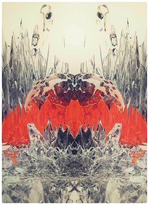 工作室atelier olschinsky平面抽象插画《GLASS》