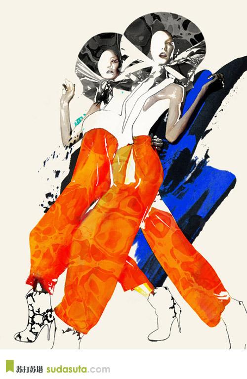 Spiros Halaris 'OVEREXPOSED'插画作品欣赏