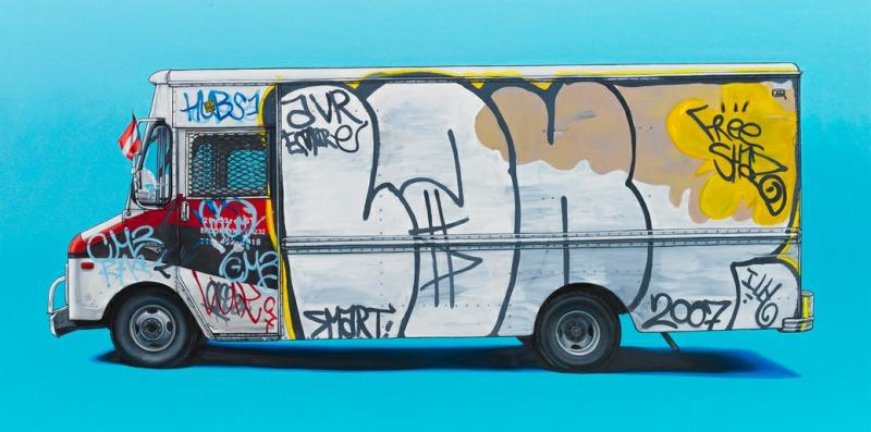 Kevin Cyr 汽车的艺术
