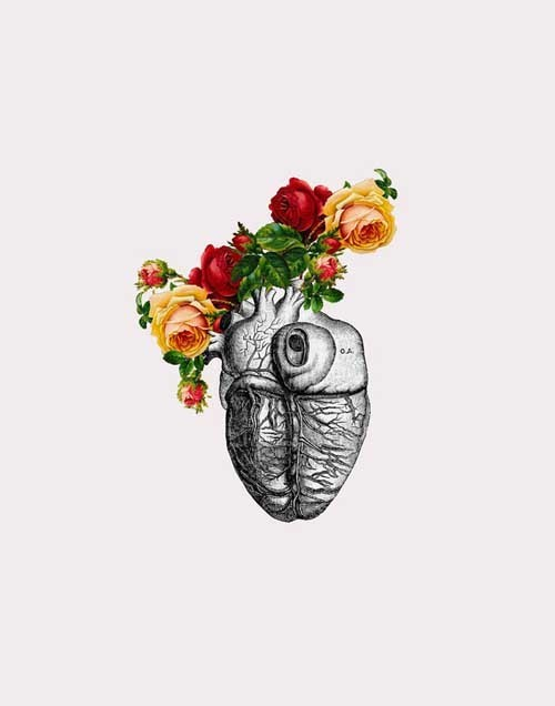 MizEnScen 骷髅与鲜花
