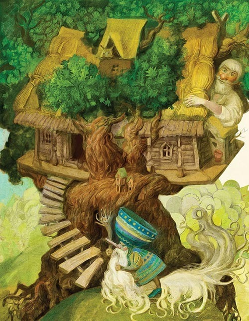 来自Ivan Sulima的插画作品欣赏