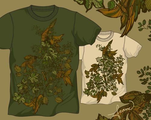 30个富有创意的T恤图案设计欣赏