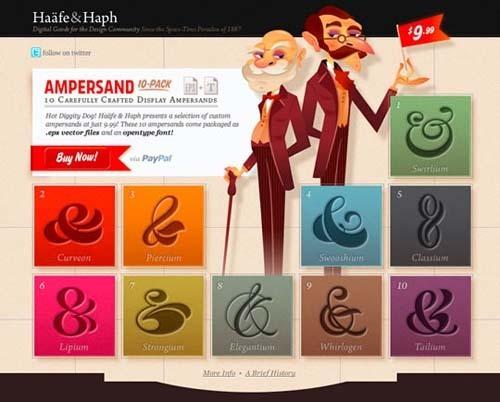 42张色彩丰富的网页设计欣赏