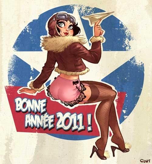 Guillaume Poux 性感惹火的卡通插画