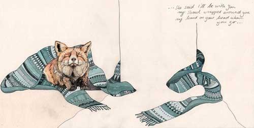 Sandra Dieckmann 以自然的名义 环保插画作品欣赏