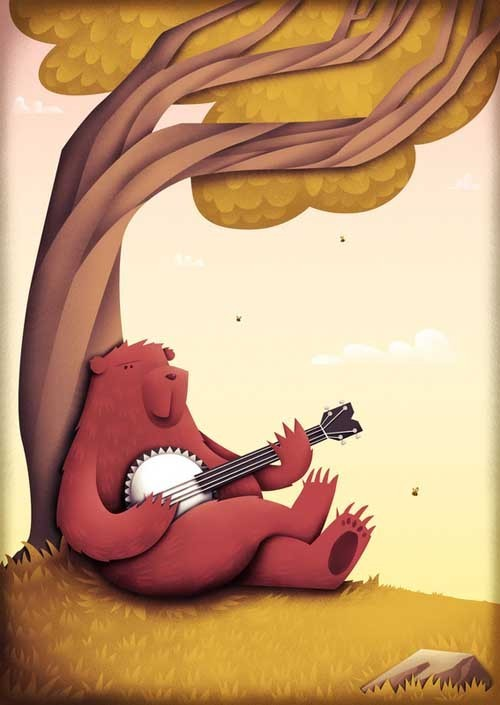 Natalie Smith 可爱的插画作品欣赏