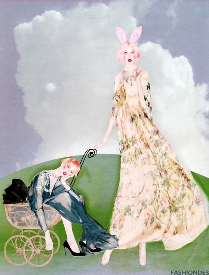 Nick Knight 时尚摄影欣赏
