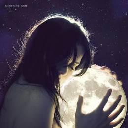 Marilyn Bouchard 女生与月亮
