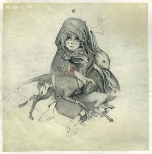 来自Joao Ruas的插画作品欣赏