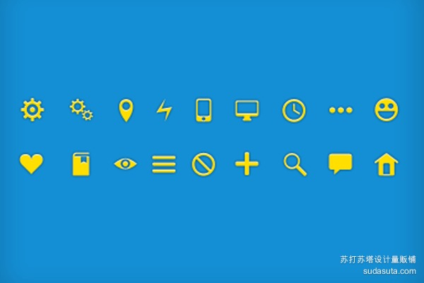 18个免费的图标<br /> http://dribbble.com/shots/785128-18-Icons-Free-PSD