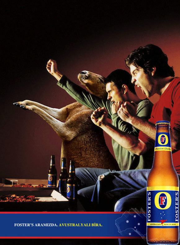 Fosters Advertising<br /> http://www.behance.net/gallery/Fosters-Advertising/364028