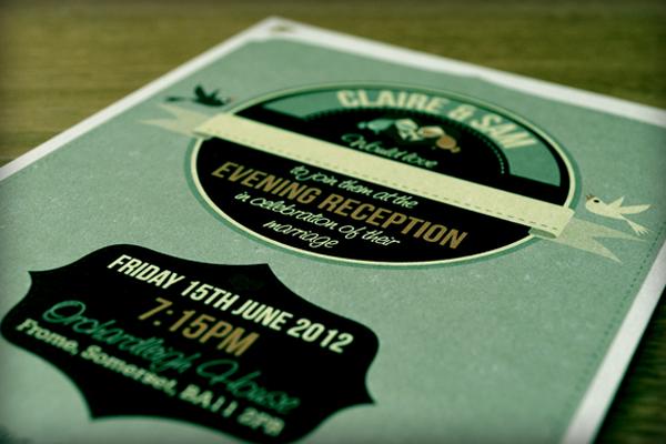 wedding invitation illustration designs