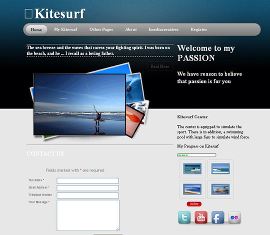 Demo:<br /> http://freehtml5templates.com/downloads/free/kitesurf/<br /> Download:<br /> http://freehtml5templates.com/downloads/free/kitesurf.zip