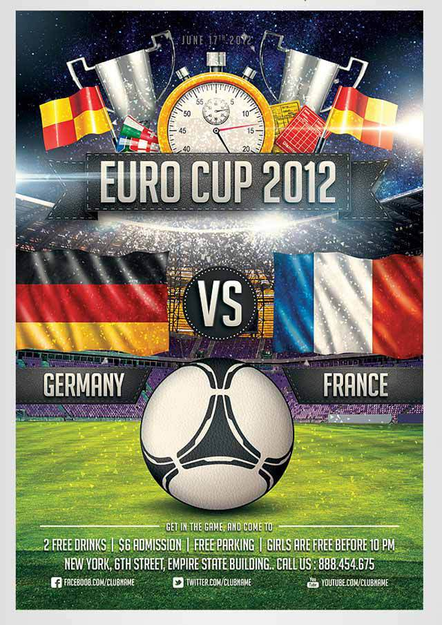 Euro Soccer Flyer<br /><br /> http://saltshaker911.deviantart.com/art/Euro-Soccer-flyer-Vol-2-304978124