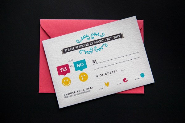 cmyk wedding invitation colors paper prints
