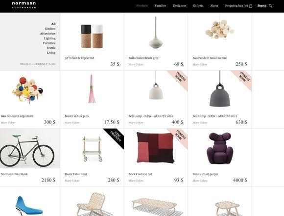 Normann Copenhagen<br /> http://www.normann-copenhagen.com/Products