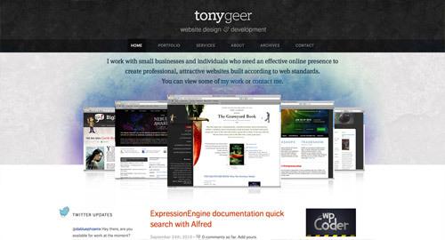 Tony Geer<br /> http://www.tonygeer.com/