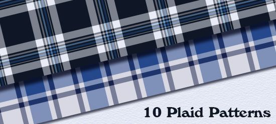 10 Seamless Plaid Patterns for Illustrator and Photoshop<br /> http://colorburned.com/2011/07/10-seamless-plaid-patterns.html