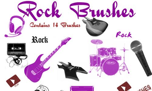 Rock Brushes<br /> http://donyle.deviantart.com/art/Rock-Brushes-67171424