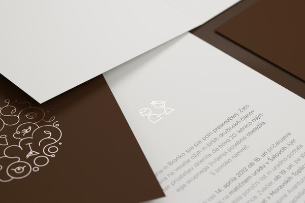 graphics print design wedding invitation