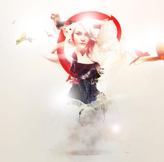 在photoshop中绘制一个带有自然元素的超现实主义照片合成作品<br /> http://www.psdvault.com/photo-effect/design-a-natural-abstract-photo-manipulation-in-photoshop/